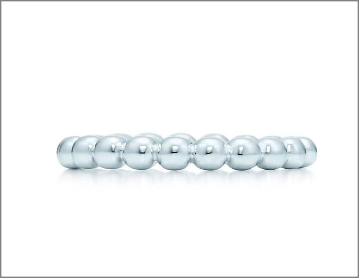Anello Ball, collezione-Tiffany City HardWear. Prezzo: 170 euro