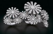 Margherita Masterpieces. Anelli  in oro bianco e diamanti