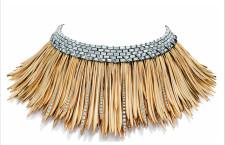 Collier della linea Whispers of the Rain Forest, in oro e diamanti