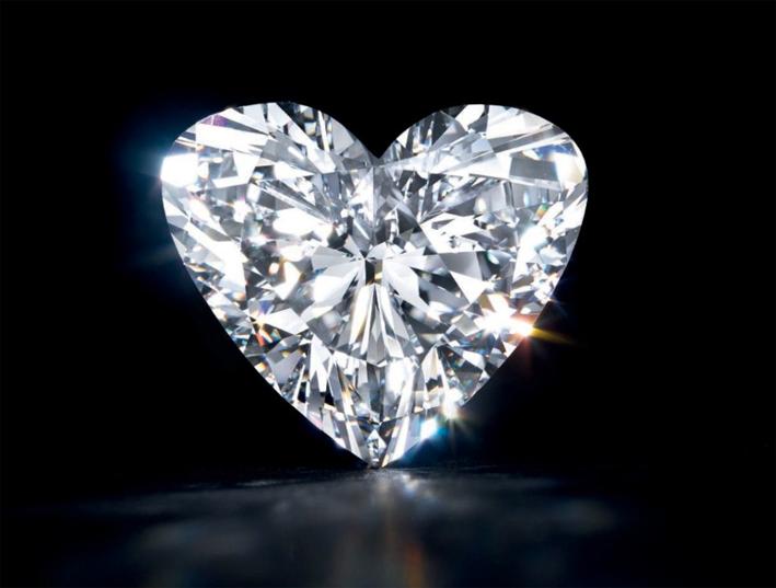 Diamante taglio a cuore di 15,87 carati