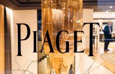La vetrina di Piaget in via Verri, a Milano