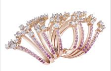 Collezione Maharaja, anello in oro rosa e rubini