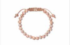 Bracciale in oro rosa con diamanti. Prezzo: 30.600 euro