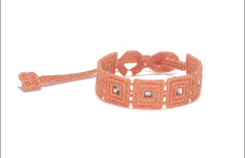 Bracciale Secret rosa pesco