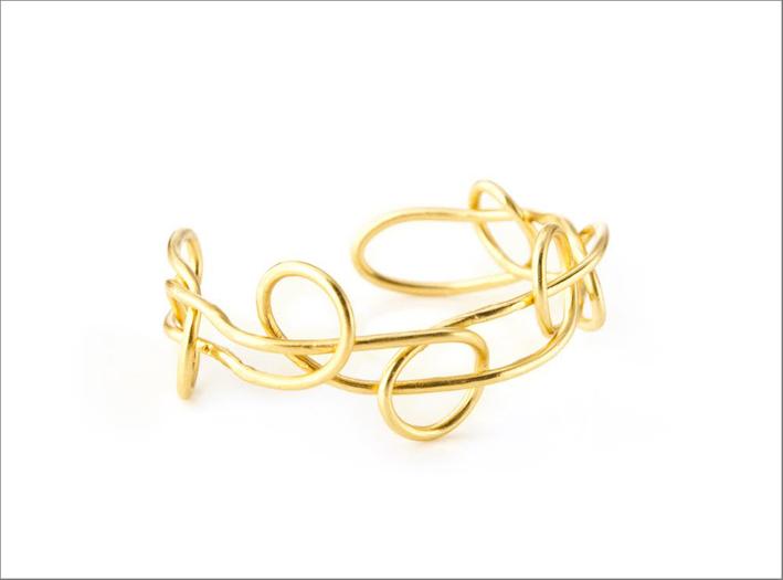 Bracciale della collezione Knot Light. Prezzo: 170 euro