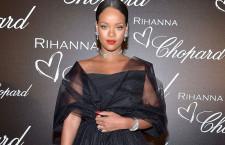 Rihanna al party di Chopard