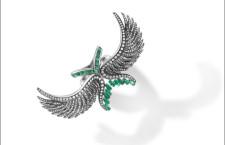 Anello con smeraldi e onice