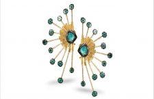 Orecchini della Muzo collection in oro e smeraldi