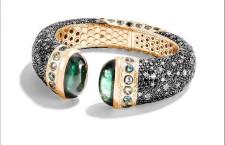 John Hardy, bracciale con smeraldi