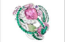 Alta gioielleria Fabergé, anello della collezione Secret Garden