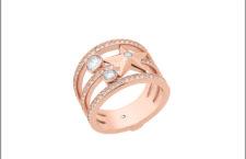 Michael Kors, anello tonalità oro rosa