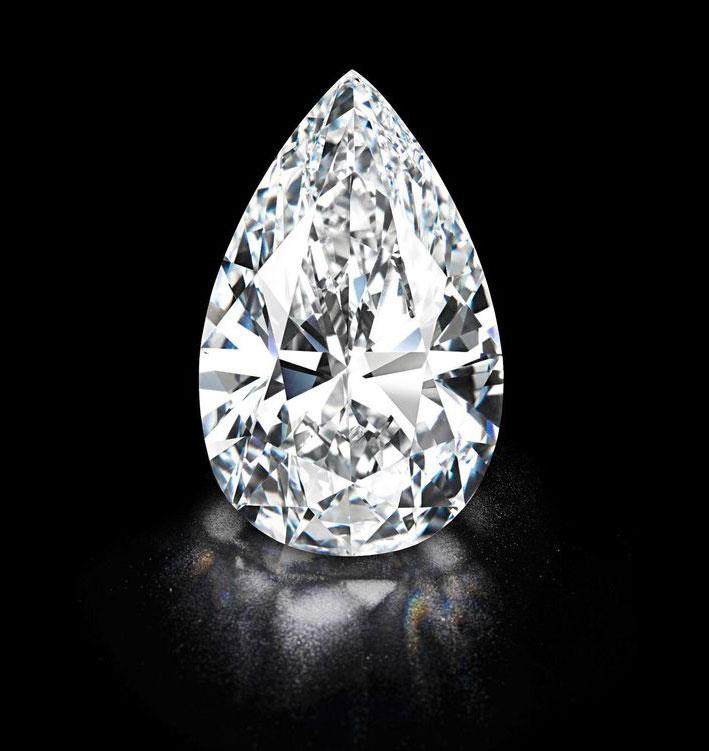Il diamante Winston's Legacy di 101,73 carati