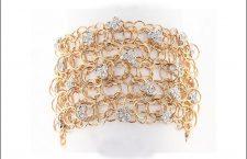 Bracciale Circle, in oro 18 carati e diamanti