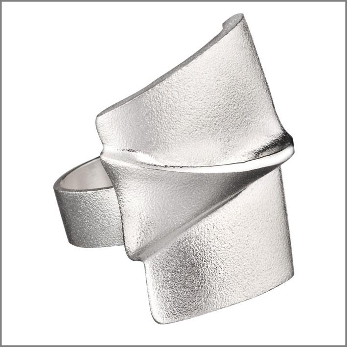 Anello in argento di Lapponia Jewelry
