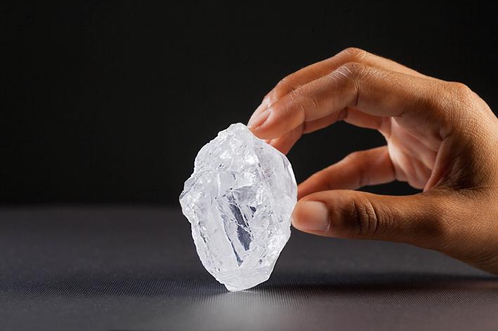 Il diamante acquistato da Graff: pesa oltre mille carati