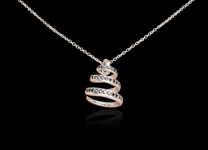 Pendente in oro e diamanti della collezione Fairytale