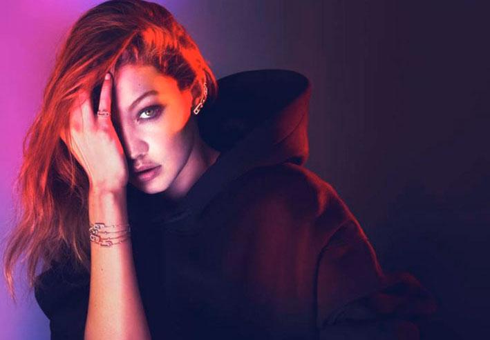 Gigi Hadid con gioielli di Messika