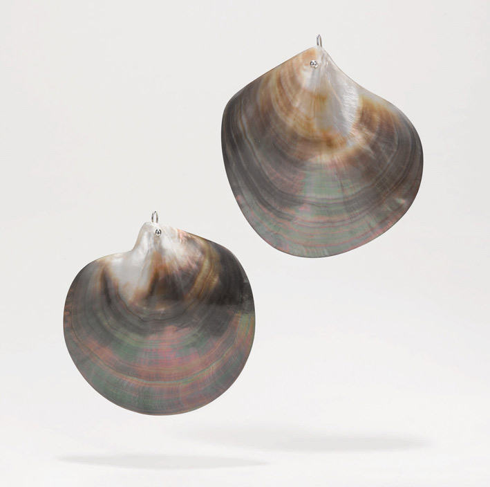 Large Shell Earrings. Photo: Courtesy Sotheby's