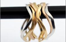 Bracciali della collezione Broken Line
