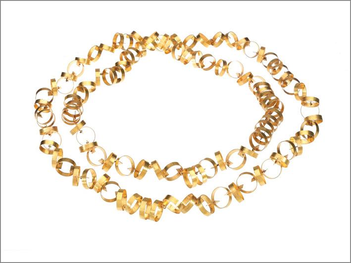 Giampaolo Babetto, Collana in oro giallo