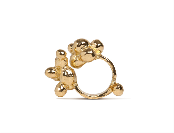 Anello Bubble in oro 18 carati