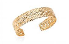 Bracciale in oro 18 carati della New Skin collection