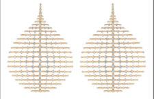 Orecchini della collezione Brilliant, con 12,26 carati di diamanti. Prezzo: 54.000 dollari