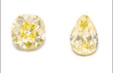 The Donnersmarck Diamonds, Fancy Intense Yellow di 82,47 e 102,54 carati