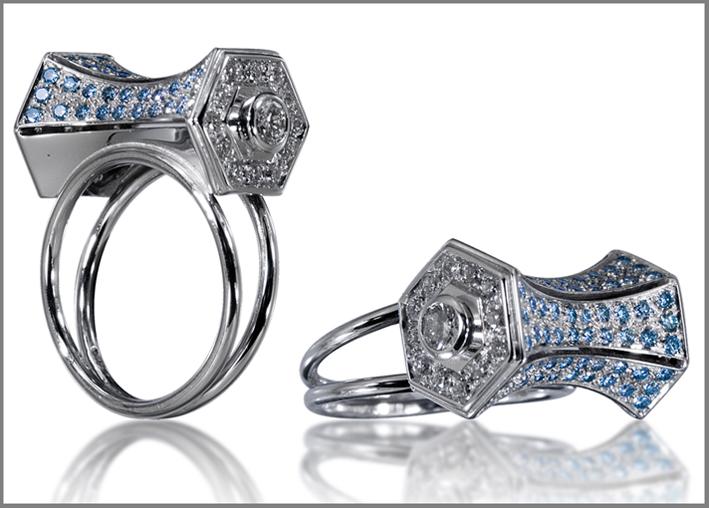 Luigi Sala Gioielli (anello Clessidra)