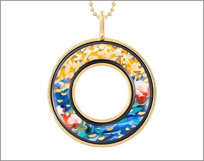 Freywille gives enamel to Monet and Klimt
