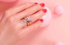 Anello della collezione Pink Strada