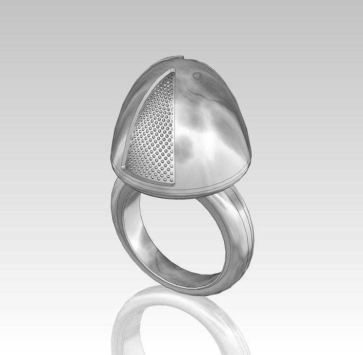 L'anello di Sissel Tolaas e Georg Hornemann