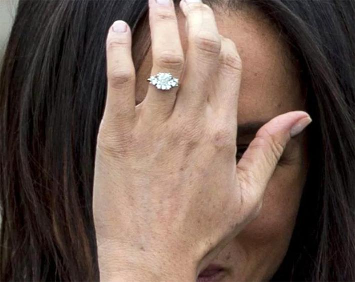 L'anello di fidanzamento di Meghan Markle