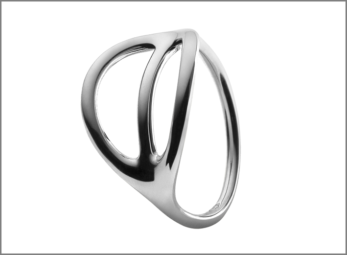 Anello in argento 925 della collezione Foglie