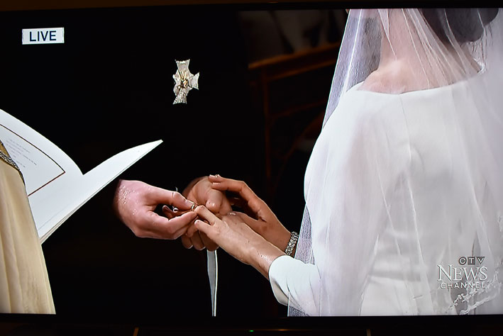 Meghan Markle, anello nuziale