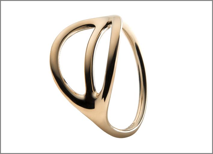 De Vecchi, anello in oro 9 carati