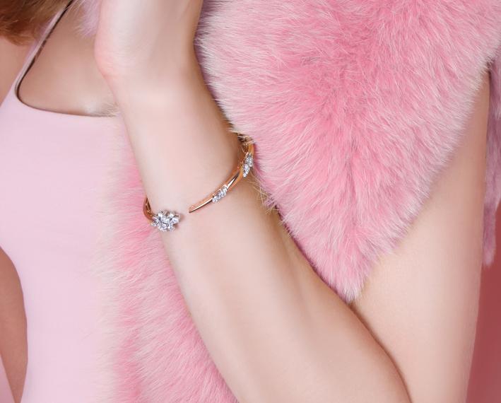 Bracciale della collezione Pink Strada