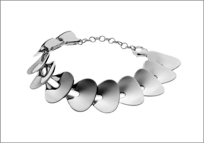 Bracciale in argento della collezione Primitive
