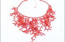 Caterina Murino, collana in corallo e oro