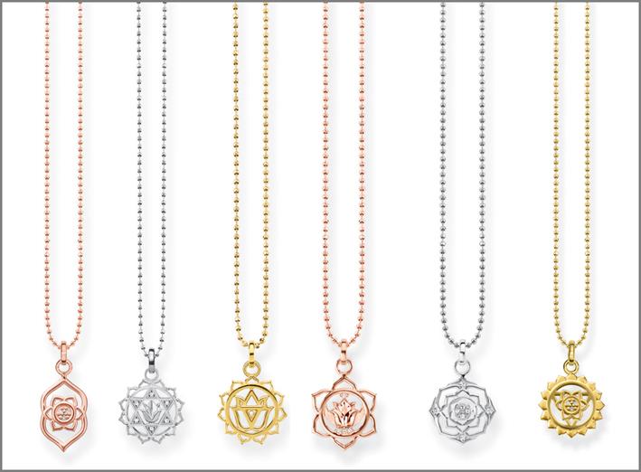 Collane della collezione Mini Chakra