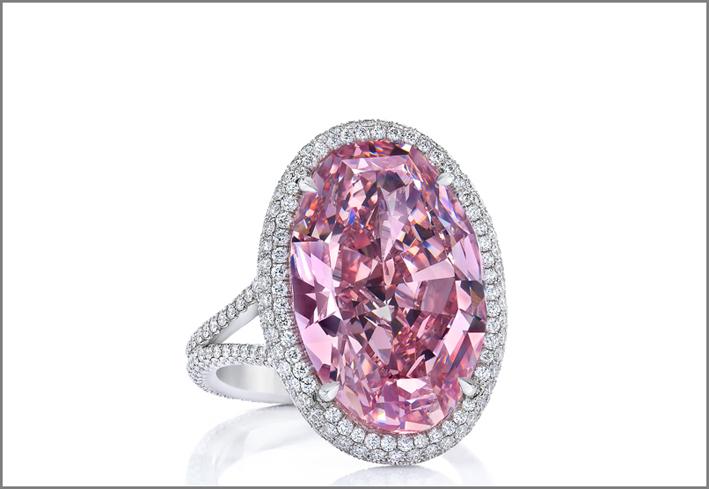 The Pink Promise, un diamante fancy vivid pink da 14,93 carati