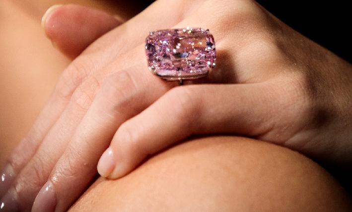 Il Raj Pink, diamante rosa di oltre 37 carati