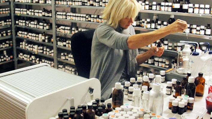 Sissel Tolas nel suo laboratorio