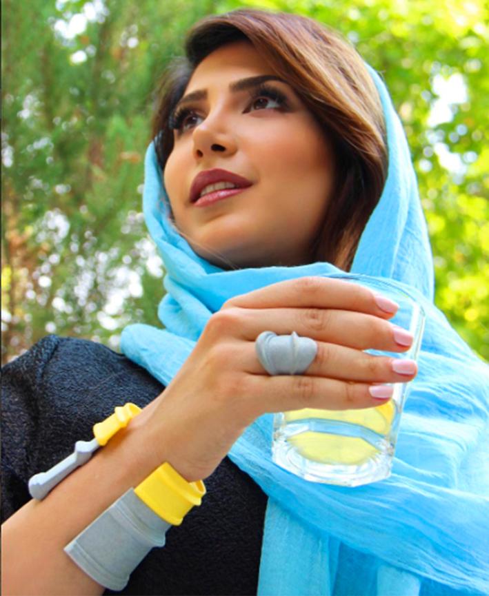 Sogand Nobahar, anello e bracciali serie MyCity, Teheran