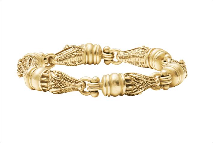 Bracciale in oro 18 carati disegnato da Barry Kieselstein-Cord