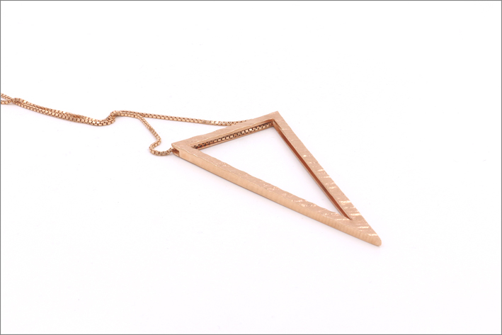 Collana Big Triangle Pendant
