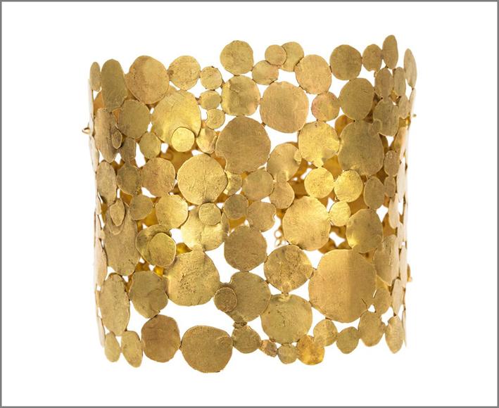 Judy Geib, bracciale in oro
