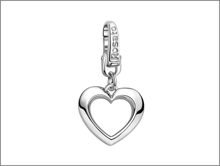 Charm in argento 925 . Prezzo: 39 euro