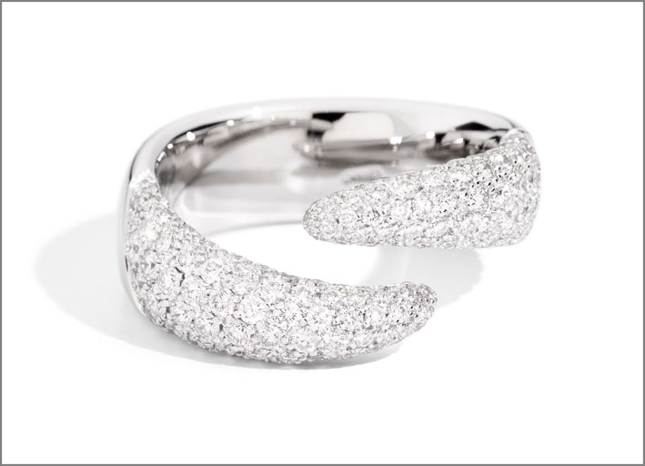 Eternity Royal, anello con full pavé