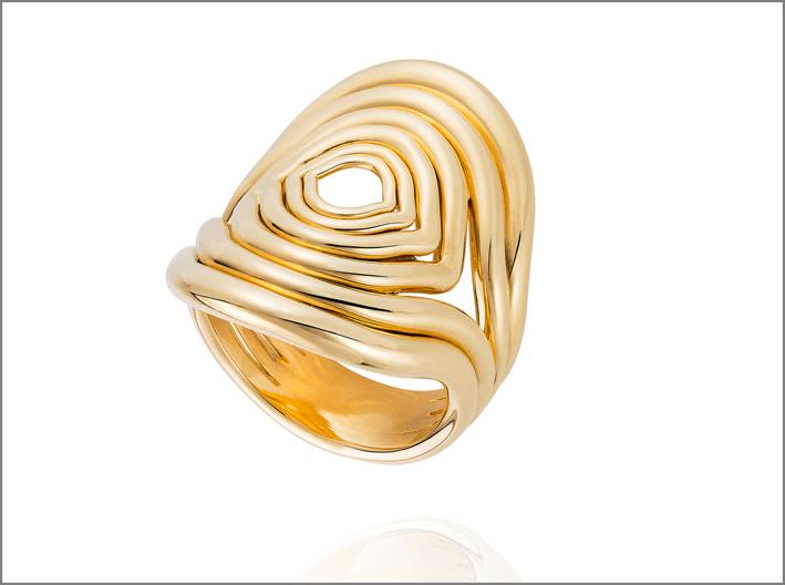 Anello in oro di Fernando Jorge